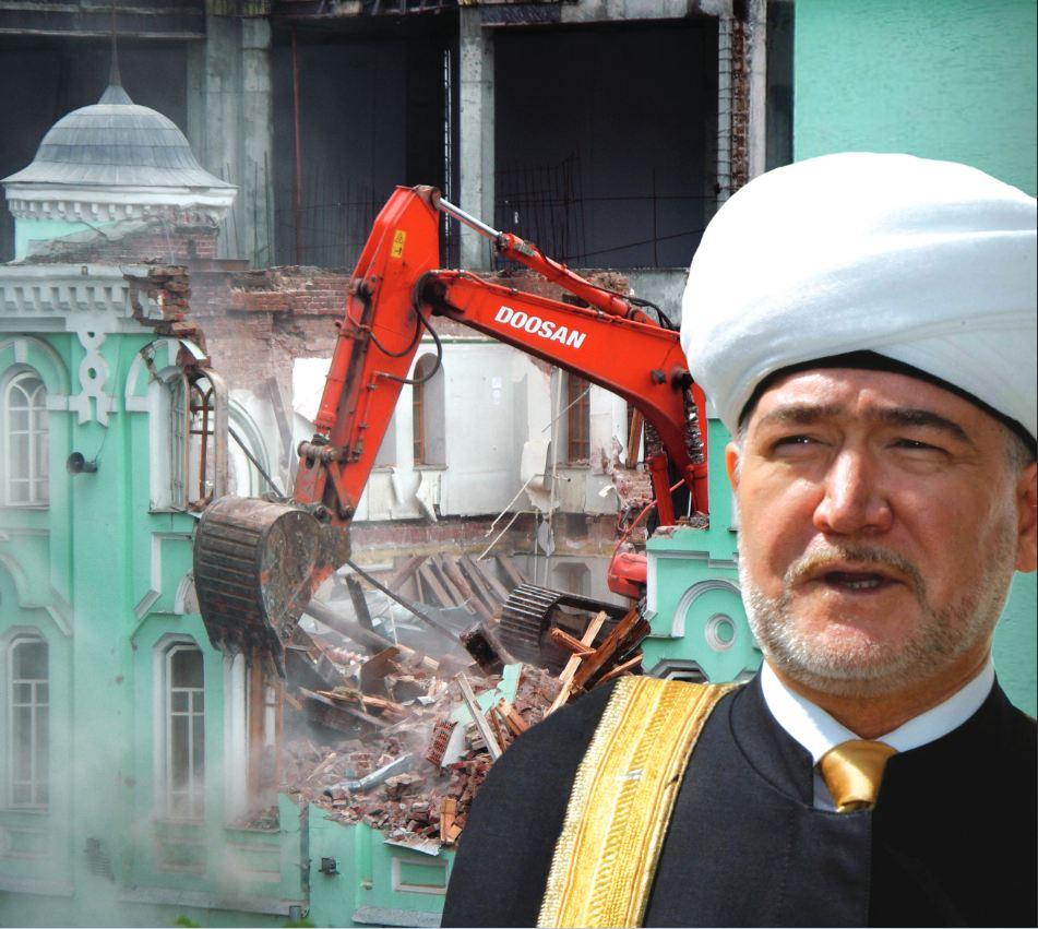 رغم رمزيته التاريخية.. عامان على هدم «مسجد موسكو القديم» ولم يتم البناء