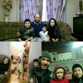 مسلمو مورمانسك يقدمون مساعدات للاجئين