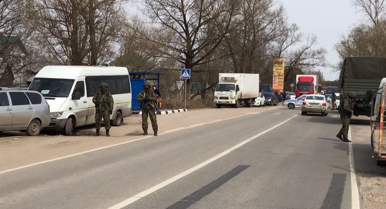 عملية أمنية في مسجد نارو- فونينسك بعد صلاة الجمعة