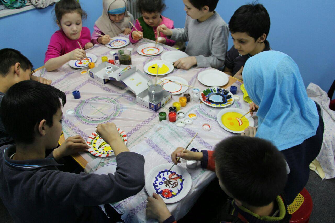مخيم اسلامي للاطفال في سان بطرسبورغ