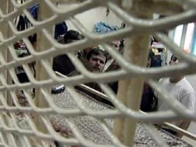وقفة روسيا مع إضراب عن الطعام الأسرى الفلسطينيين