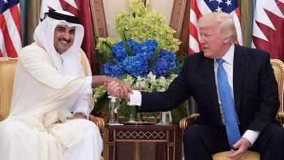 أزمة قطر و ترامب مهدد