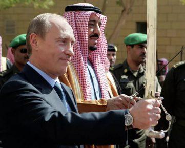 الزيارة تاريخية  – أول زيارة لملك سعودي إلى روسيا