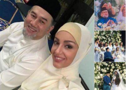 ملكة جمال موسكو تعتنق الاسلام وتتزوج ملك ماليزيا