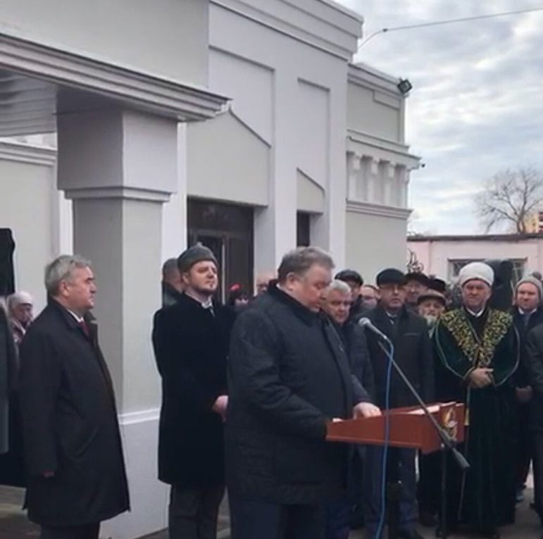 افتتاح الاول المركز الثقافي الاسلامي في  روسيا