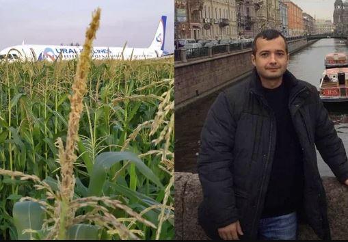 الطيار ضمير يوسف أنقذ 233 راكباً وهبط بطائرته في حقل زراعي